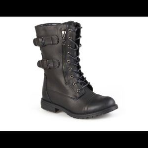 Journee Collection Lace-Up Boots